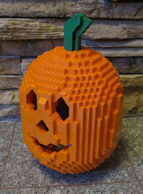 LEGO medium-sized Jack O'Lantern